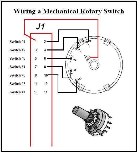 the desktop aviator wiring and installing the model 2235 31 rh desktopaviator com 2 pole 6 position rotary switch wiring diagram Radio Shack Rotary Switch